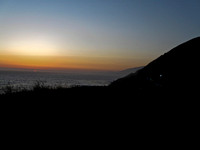 Sunset on the PCH