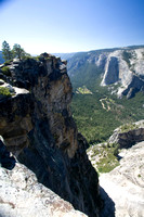 Taft Point, looking into Yosemite Valley